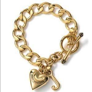 Juicy Couture Gold Charm Bracelet - Vintage